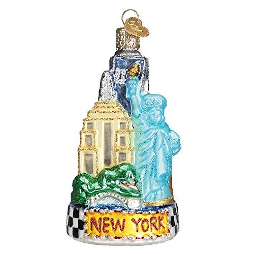 Old World Christmas 20083 New York City Glass Blown Ornament New York City