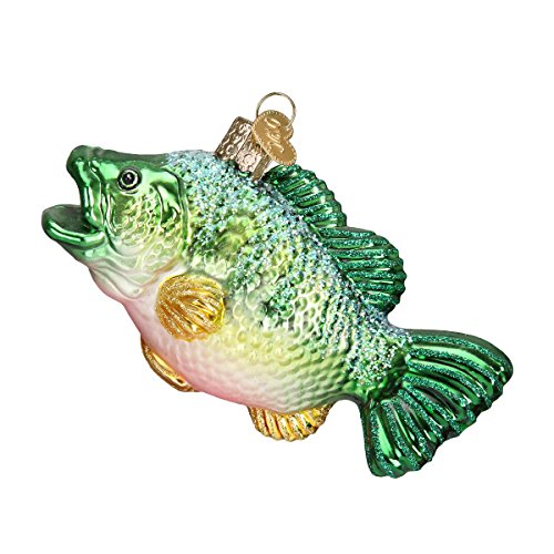 Old World Christmas Largemouth Bass Glass Blown Ornament