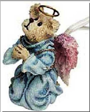 Boyds Bear Bears & Hares 25774 Faith Angelwish RETIRED