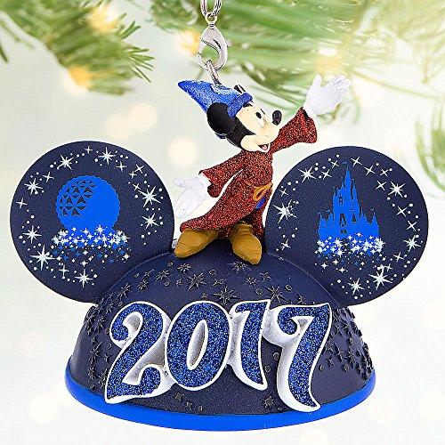 Disney Sorcerer Mickey Mouse Light-Up Ear Hat Ornament – Walt Disney World 2017