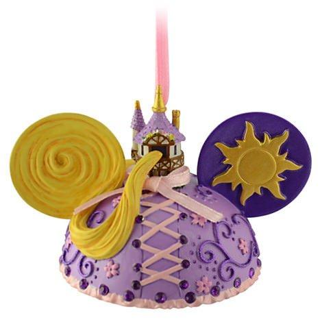 Disney Rapunzel Mickey Mouse Ears Hat Ornament