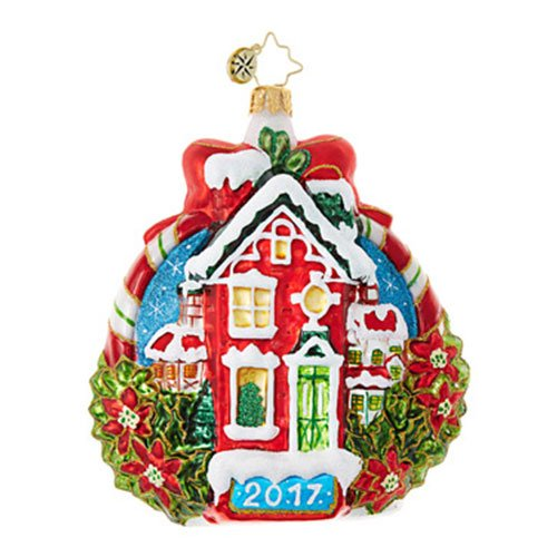 Christopher Radko A Merry Housing Market Our First Christmas Ornament