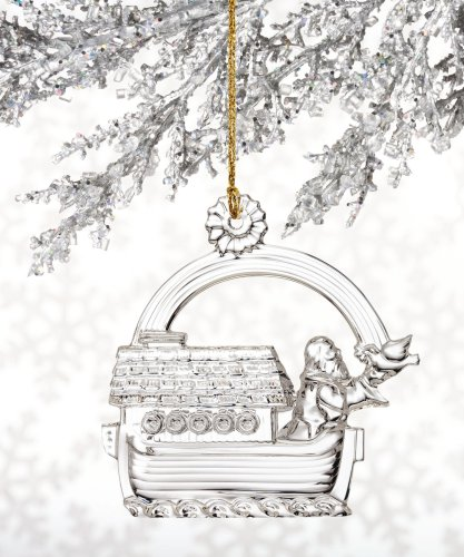Marquis by Waterford Noah on the Ark, Christmas Ornament