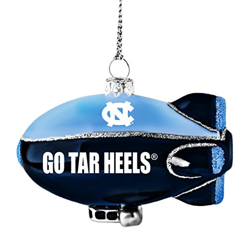 NCAA North Carolina Tar Heels Glitter Blimp Ornament