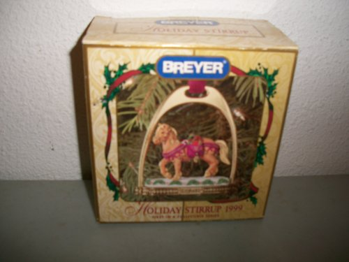 Breyer 1999 Holiday Stirrup Ornament