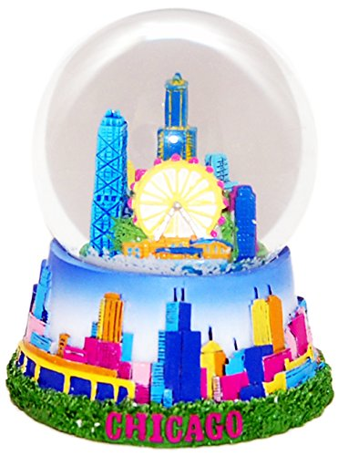 Chicago Skyline 65mm Large Snowglobe
