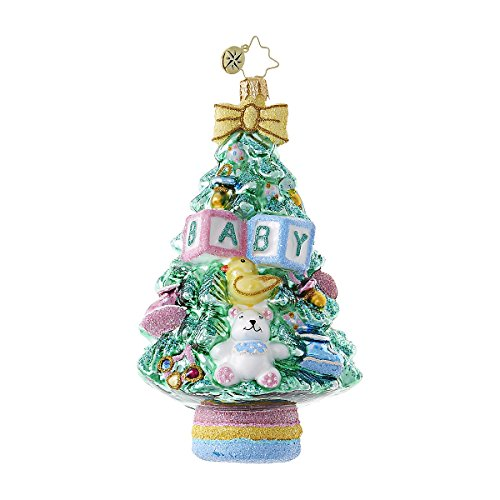 Christopher Radko What a Tree! Baby Christmas Ornament