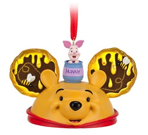 Disney Parks Winnie the Pooh Mickey Mouse Ears Hat Ornament NEW RELEASE by Disney