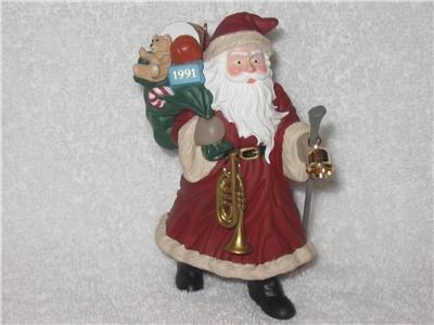 Hallmark Merry Olde Santa #2 dated 1991