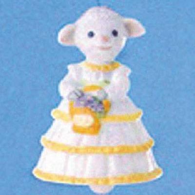 Lovely Lamb 1993 Easter Hallmark Ornament QEO8372