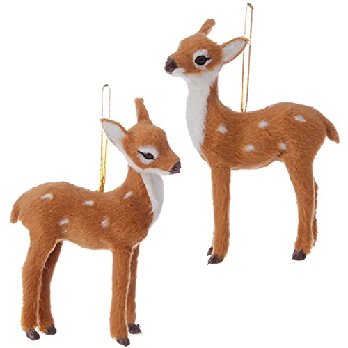 4.5″ Deer Fawn Christmas Ornament