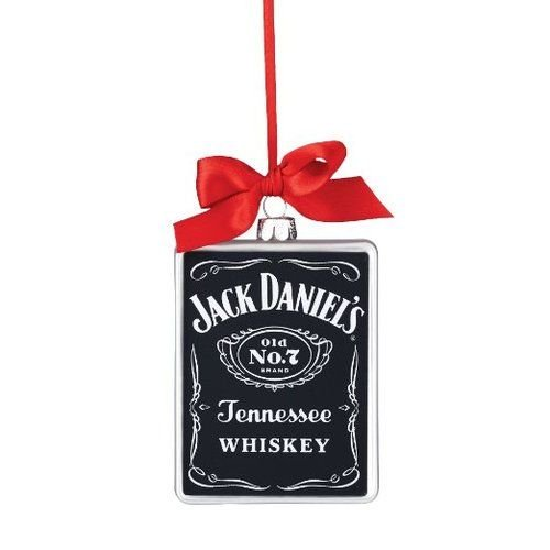 Department 56 Jack Daniels From Old No 7 Rectangle Ornament 4.125 In