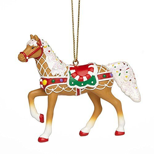 The Trail of Painted Ponies Sweet Treat Round Up Christmas Pony Horse Ornament by The Trail of Painted Ponies