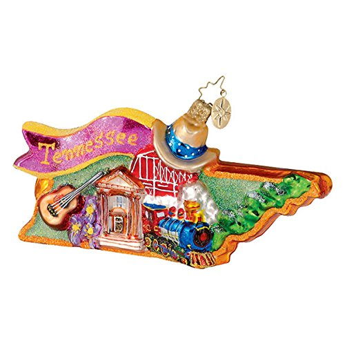 Christopher Radko Tennessee Terrific Christmas Ornament – EXCLUSIVE