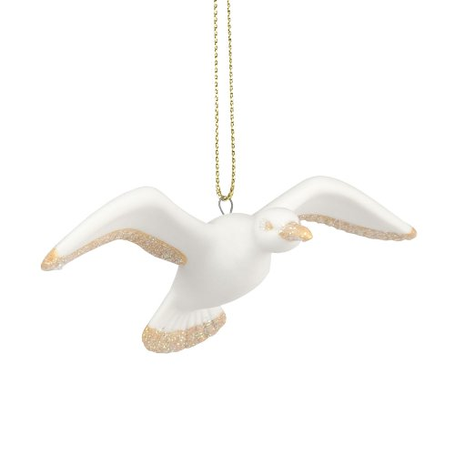 Department 56 Deck The Shores Christmas Decor Seagull Ornament, 1.18-Inch