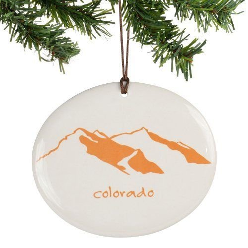 Department 56 Colorado Disk Ornament
