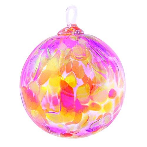 Glass Eye Studio Sunset Beauty Orchid Ornament