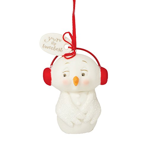 Department 56 Snowpinions From You're Tweetest Snowbird Ornament 2.36 In