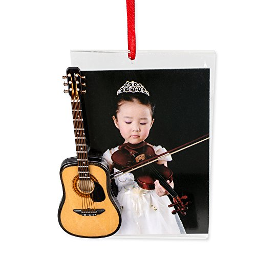 Picture Frame Ornament with Classic Guitar