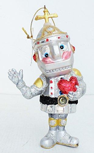 One Hundred 80 Degrees Tin Man 5.5″ Glass Ornament