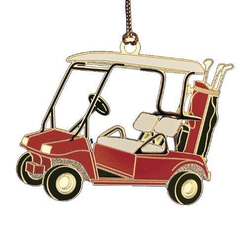 ChemArt Golf Cart Ornament