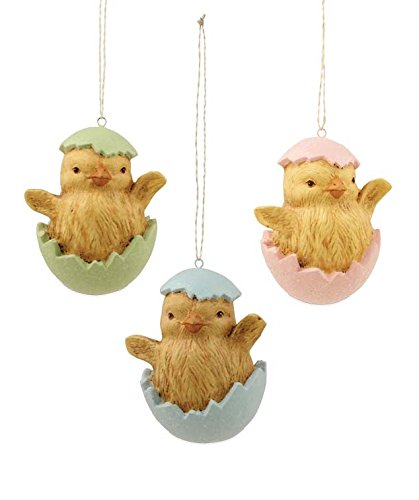 Chick in Easter Egg Ornaments Bethany Lowe S3