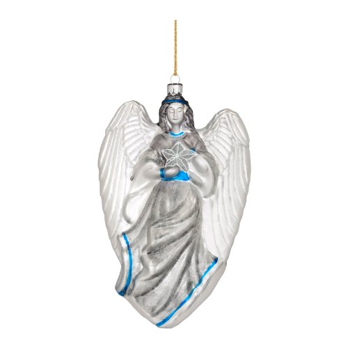 Waterford – Marquis by Waterford Angel of Light Blown Glass Ornament