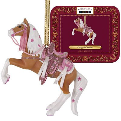 Cowgirl Cadillac Ornament with Collectible Tin | 2012