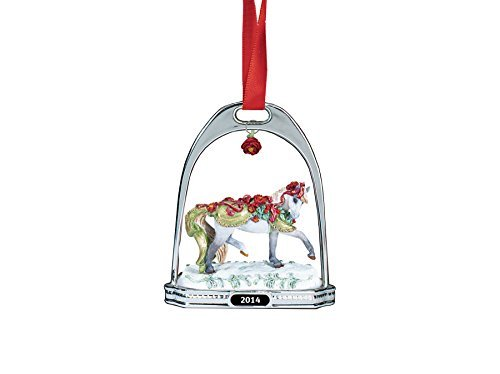 Breyer Bayberry and Roses Stirrup Ornament by Breyer