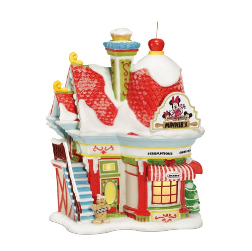 Department 56 Disney Village Lit House, Minnie's Bakery