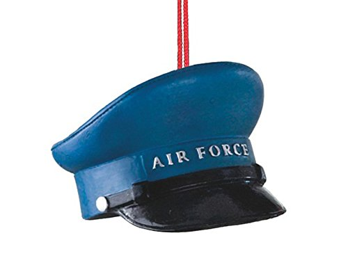Air Force Military Hat Resin Stone Christmas Tree Ornament