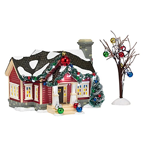 "Department 56 Snow Village ""The Ornament House"" Ceramic Lighted Building #4036562"