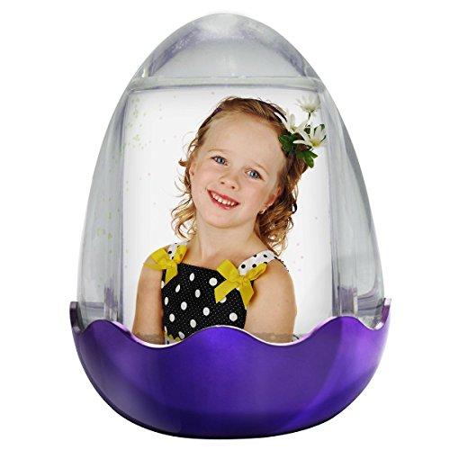 Easter Egg Photo Snow Globe