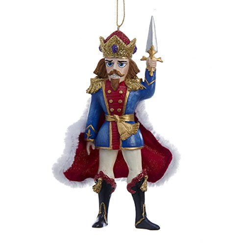 Kurt Adler Resin Nutcracker Prince Christmas Ornament
