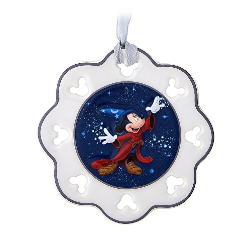 Disney Sorcerer Mickey Mouse Snowflake Ornament – Walt Disney World 2017