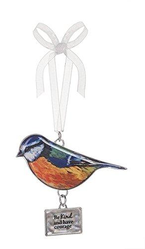 beautiful blessings bird ornament