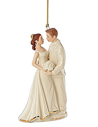 Lenox Christmas China Ornaments 2012 Always And Forever Bride And Groom