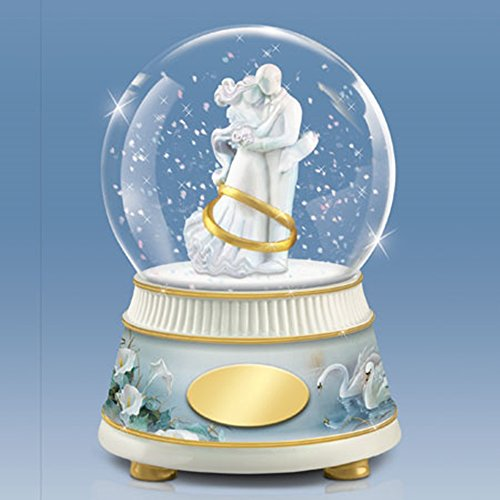 The Bradford Exchange Today, Tomorrow, Always Anniversary Water Globe