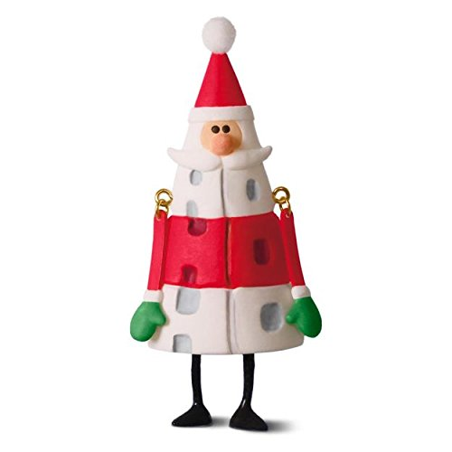 Hallmark 2016 Happy Ho-Ho-Holidays! Santa Claus Ornament