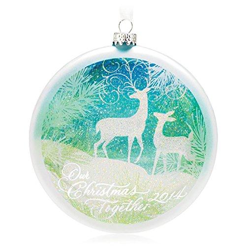 Hallmark QGO1163 Our Christmas Together 2014 – Keepsake Ornament