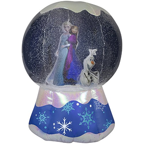Gemmy Photorealistic Airblown Inflatable Frozen Snowglobe (6-Feet)