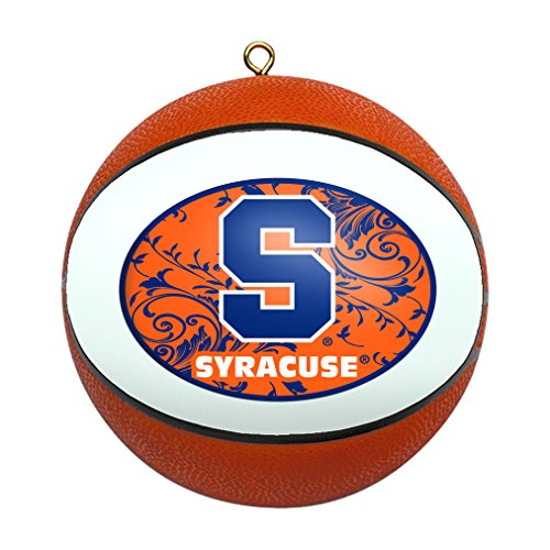 NCAA Syracuse Orange Replica Basketball Ornament