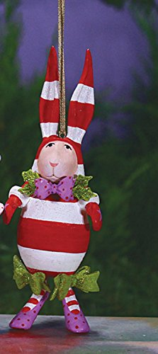 5.5″ Patience Brewster Krinkles Benjamin Bunny Decorative Christmas Figure Ornament