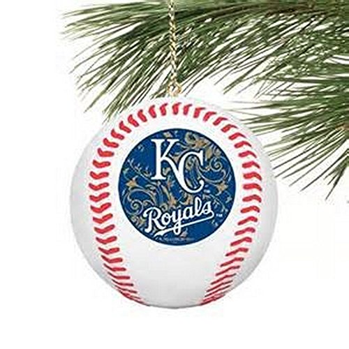 MLB Offically Licensed Kansas City Royals Replica Baseball Ornament