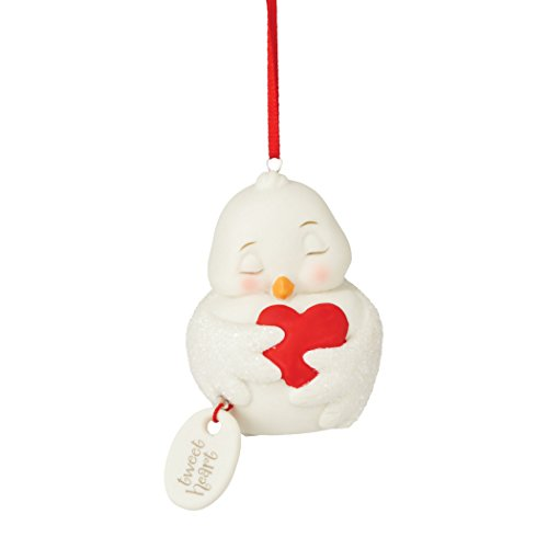 Department 56 Snowpinions From Tweetheart Snowbirds Ornament 2.99 In