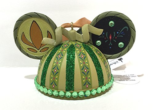 Disney Parks Anna from Frozen Mickey Mouse Ears Hat Ornament