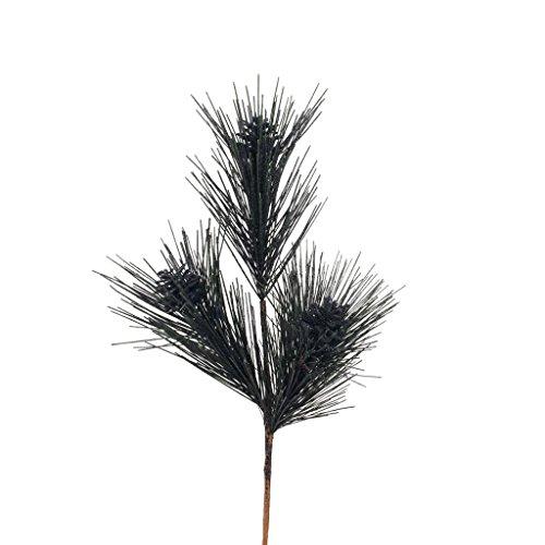 Vickerman 342451 – 2′ Black Glitter Pine Cone Spray (P133317)