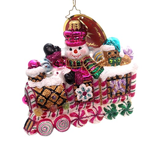 Christopher Radko Sweet Ride Candy & Sweets Transportation Christmas Ornament