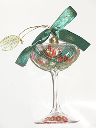 Waterford 2000 New Years Toast, Champagne Glass, Ornament Limited Edition