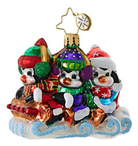 Christopher Radko Silly Sliders Little Gem Ornament